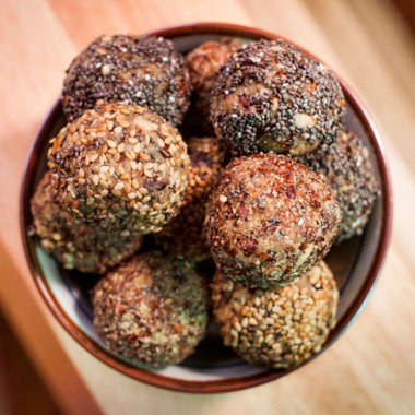 Raw Nutty Energy Balls