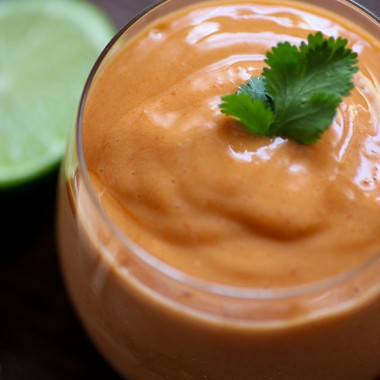 Mango Goji Lime Smoothie